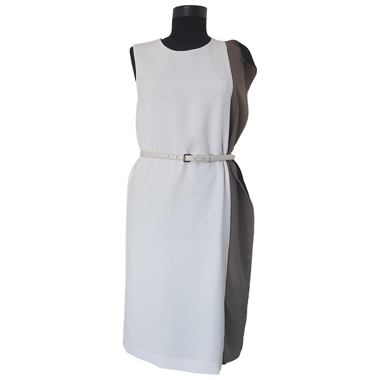 Max Mara \N White Silk dress for Women 40 IT