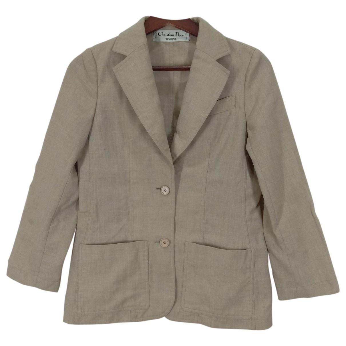 Dior \N Brown Cotton jacket for Women S International