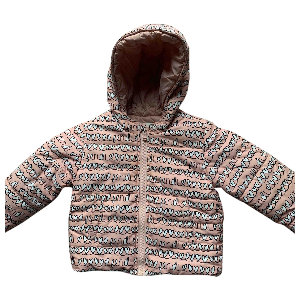 Fendi - Blousons.Manteaux   pour enfant - rose