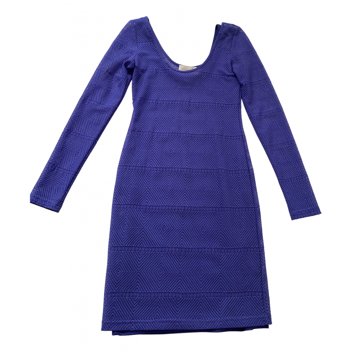 Zimmermann \N Kleid in  Lila Polyester