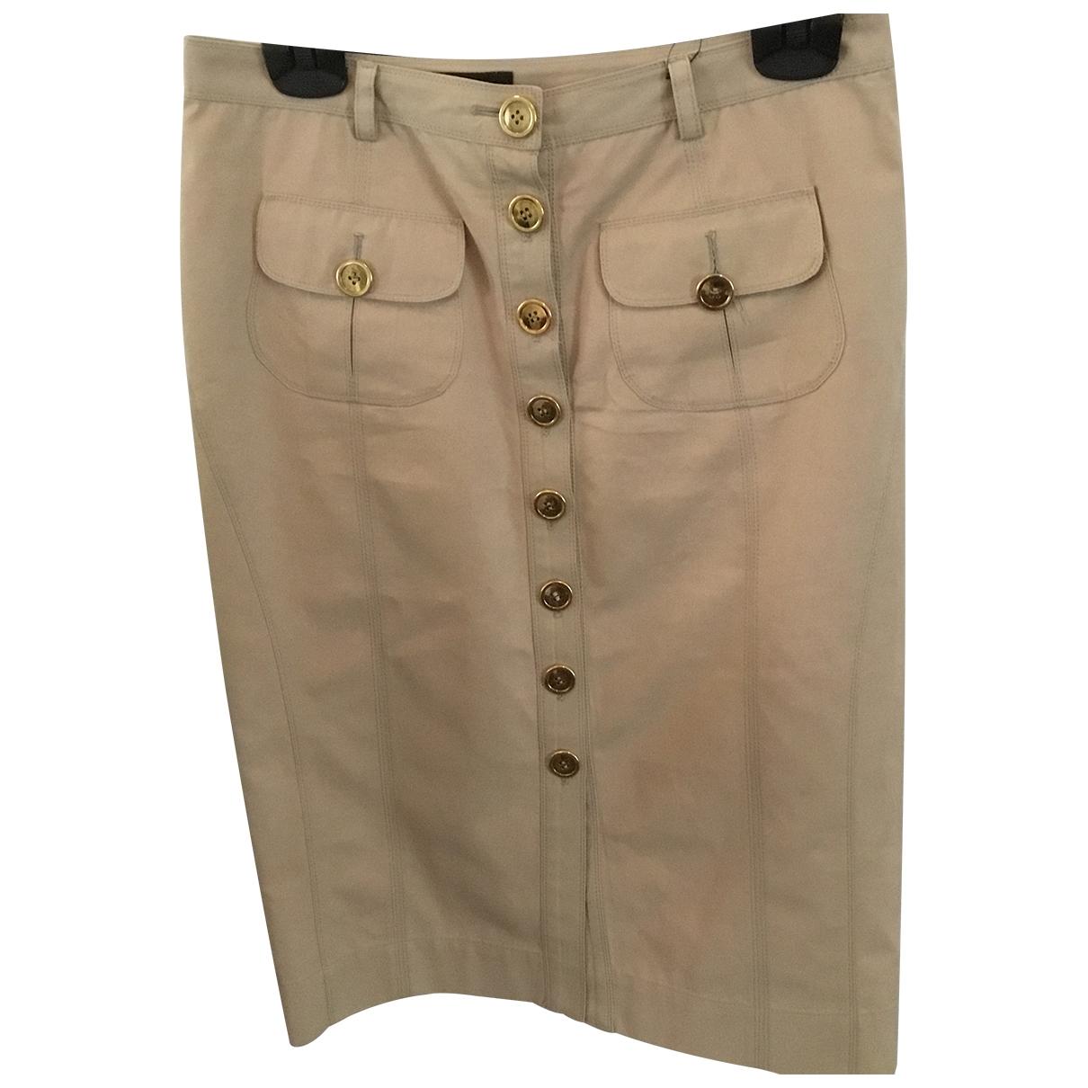 Burberry - Jupe   pour femme en coton - beige