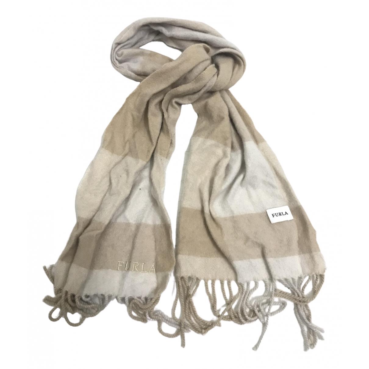 Furla - Foulard   pour femme en coton - marron