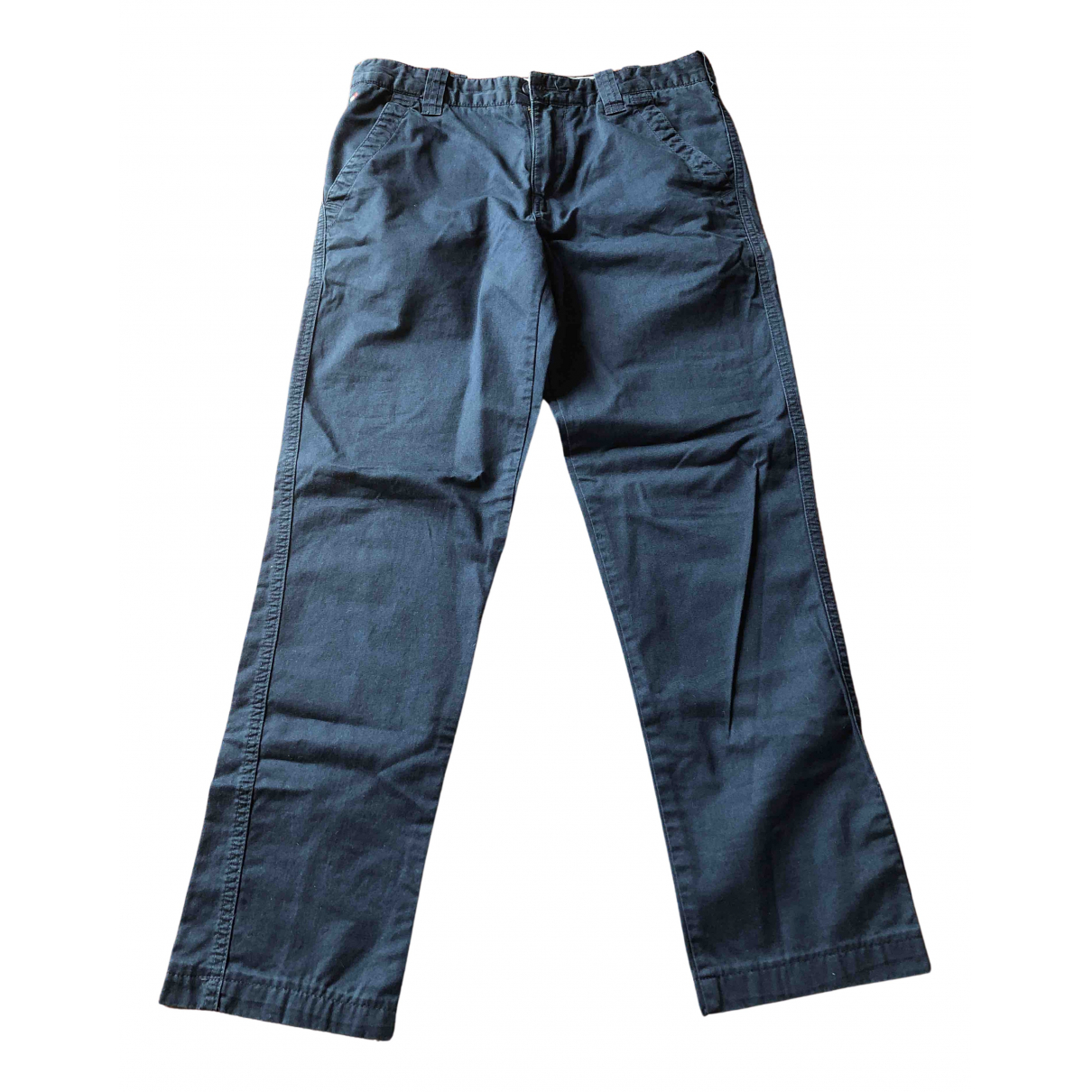 Tommy Hilfiger N Blue Cotton Trousers for Kids 16 years - M FR