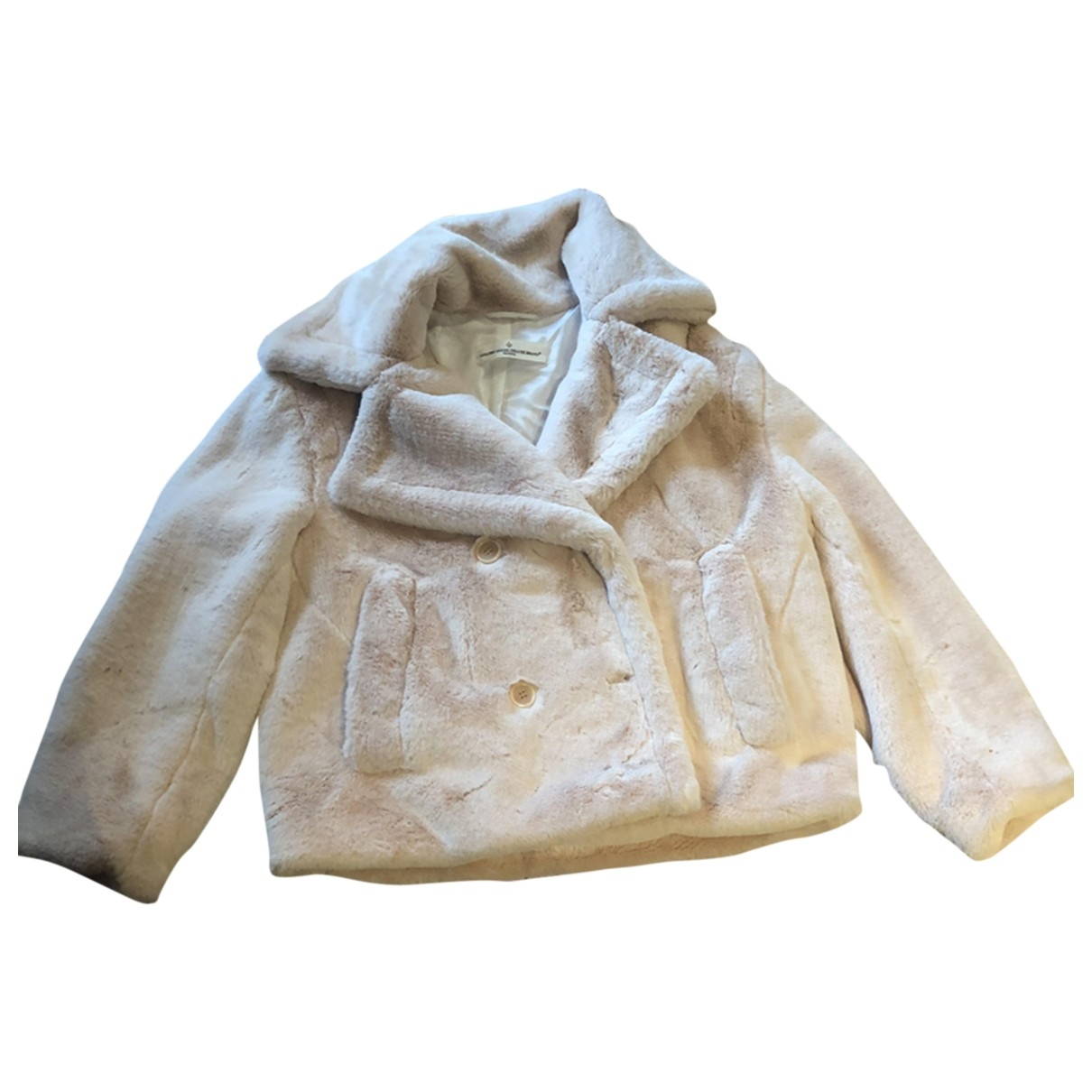 Golden Goose \N Beige Faux fur coat for Women XXS International