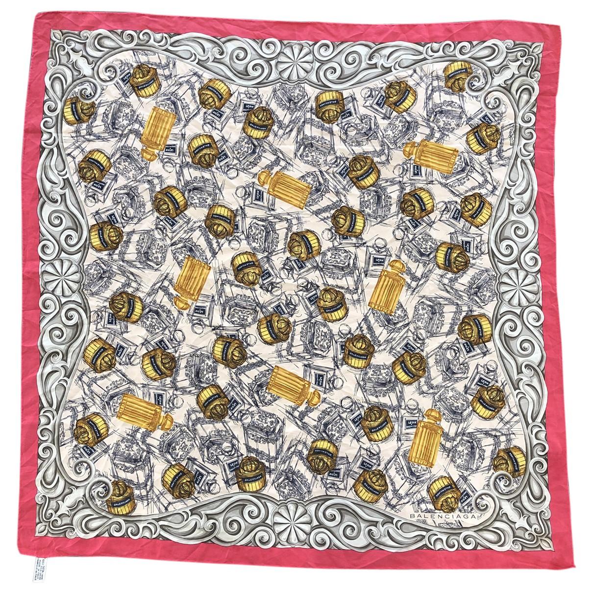 Balenciaga - Carre   pour femme en soie - multicolore