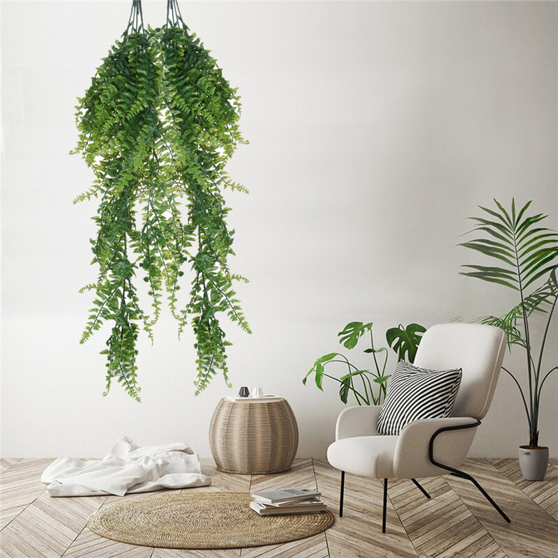 Artificial Plant Wall Hanging Persian Wall Hanging Persian Rattan Fake Flower Vine Decoration