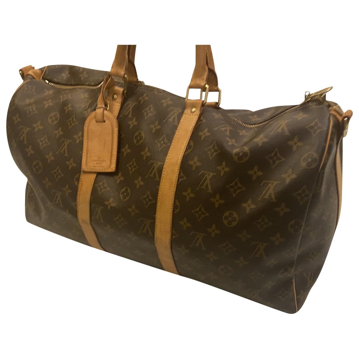 Louis Vuitton Keepall Cloth Travel bag for Women \N