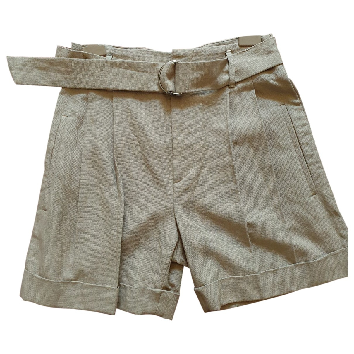 Brunello Cucinelli \N Shorts in  Beige Baumwolle