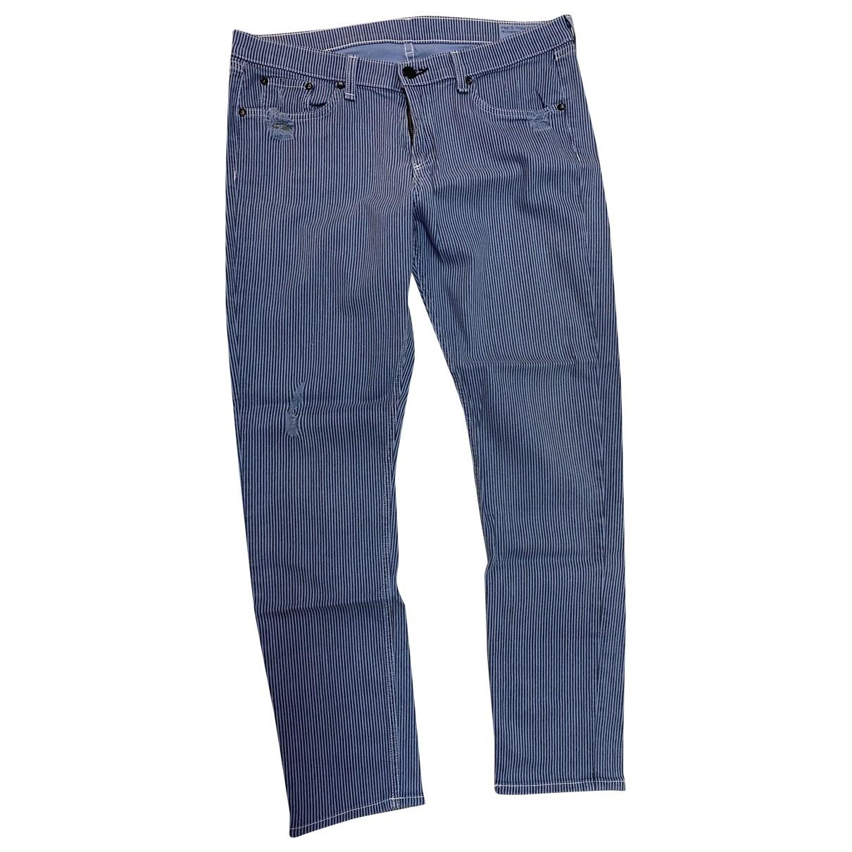 Rag & Bone \N Blue Cotton - elasthane Jeans for Women 31 US
