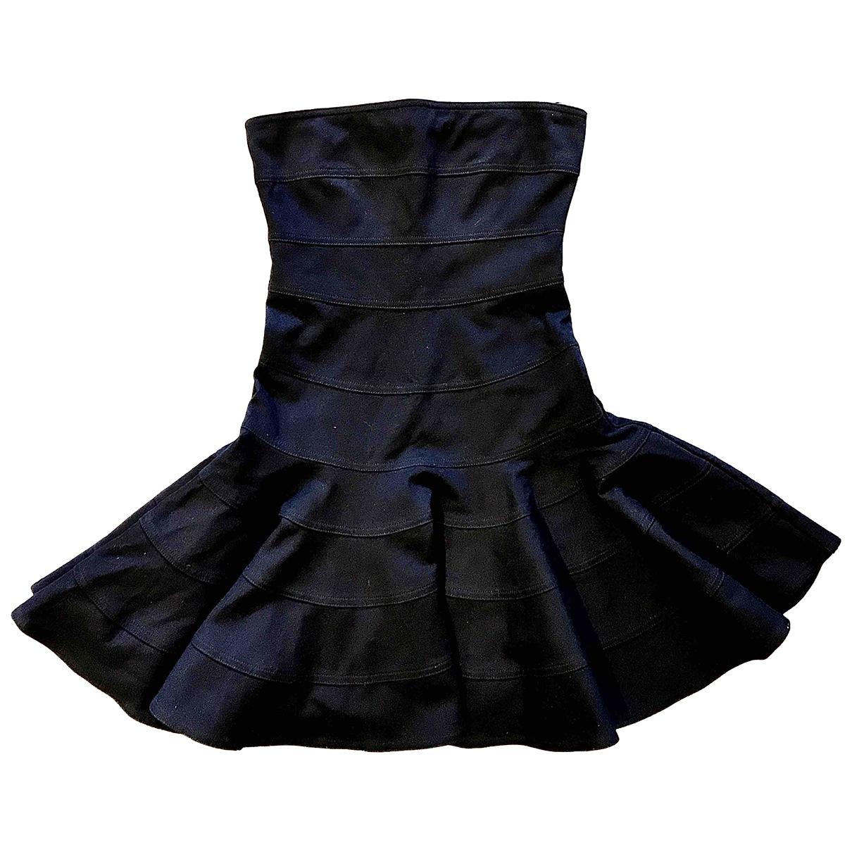 See By Chloe \N Kleid in  Blau Baumwolle - Elasthan
