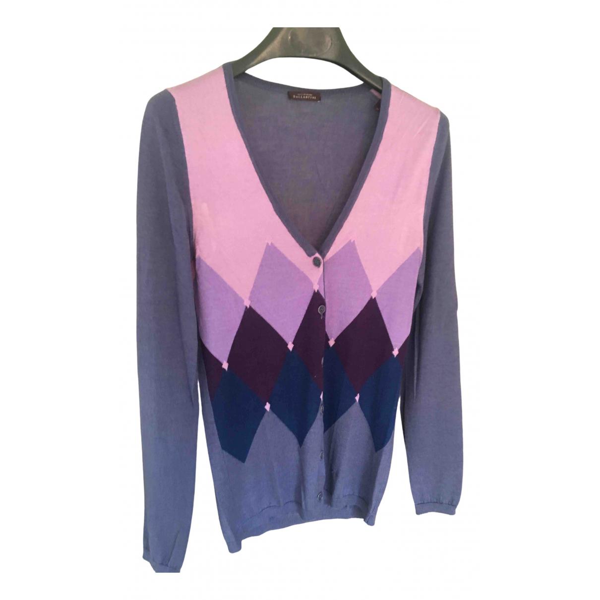 Ballantyne - Pull   pour femme en cachemire - violet