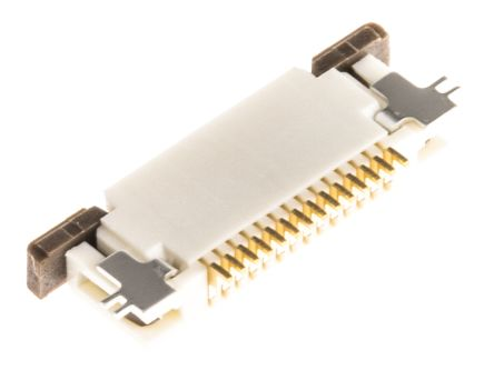 Molex Easy-On 52746 Series 0.5mm Pitch 12 Way Right Angle SMT Female FPC Connector, ZIF Bottom Contact (10)