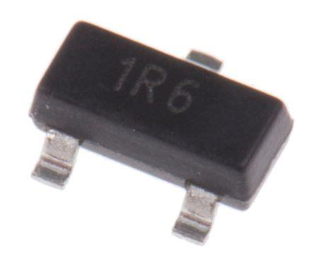 DiodesZetex DRDC3105F-7 MOSFET Power Driver, 500mA 3-Pin, SOT-23 (25)