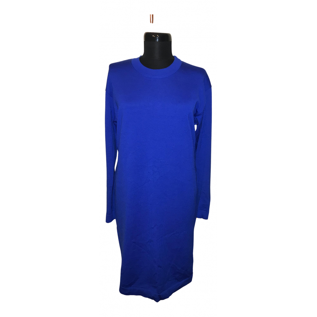Escada \N Kleid in  Blau Wolle
