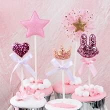 5pcs Cute Torte Topper