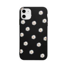 1 pieza funda de iphone con patron de flor