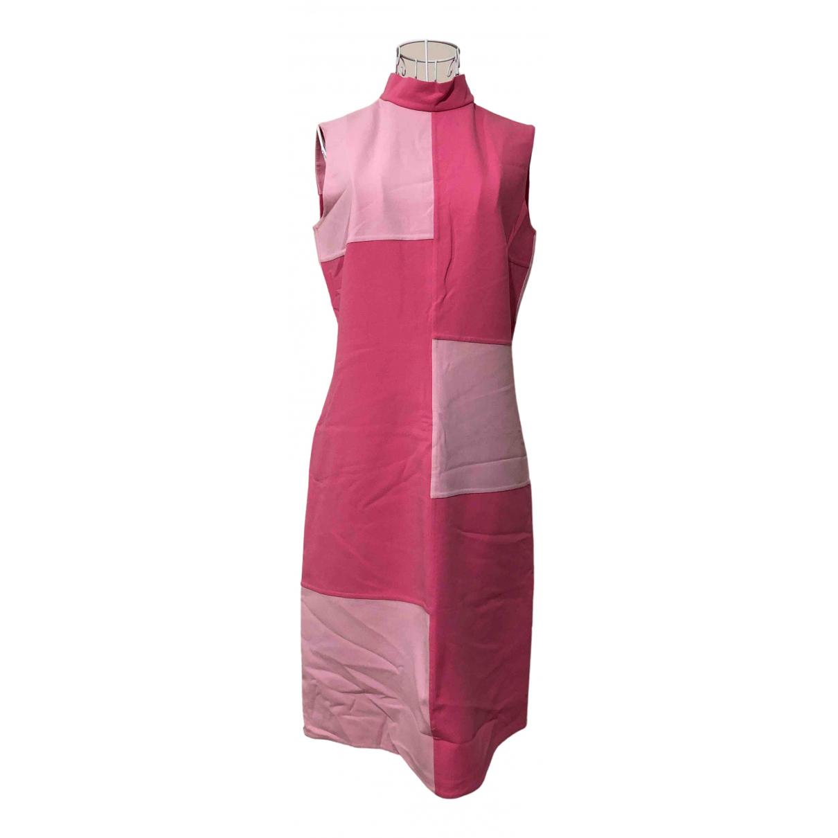 Escada \N Kleid in  Rosa Wolle