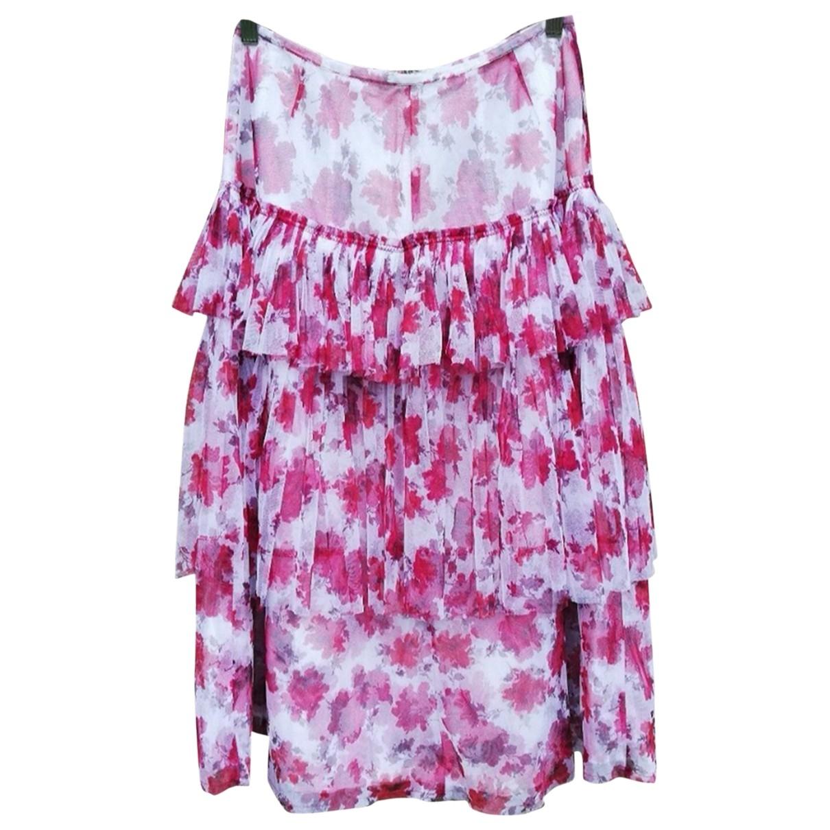 Dries Van Noten \N Pink Cotton skirt for Women 38 FR