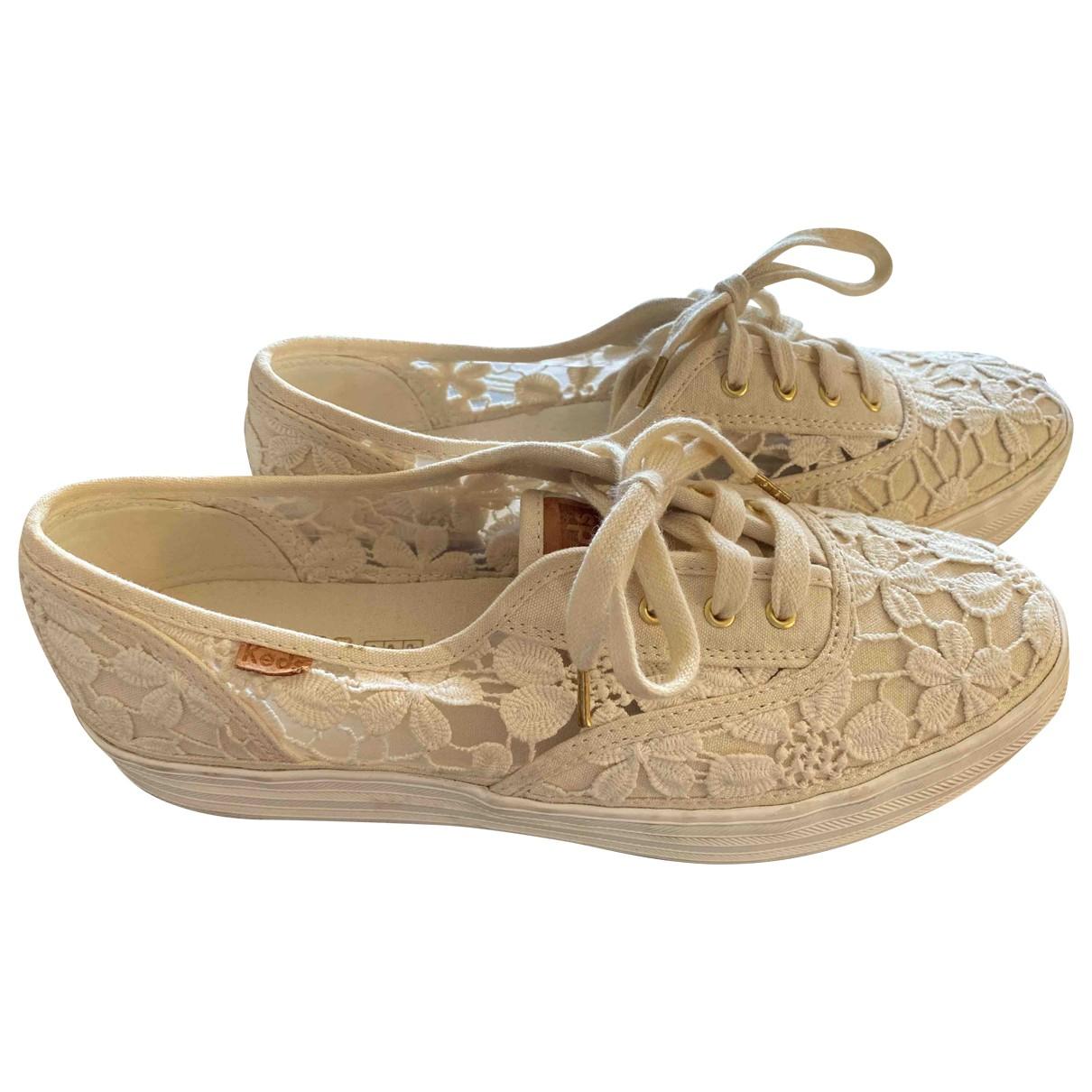 Keds - Baskets   pour femme en toile - beige