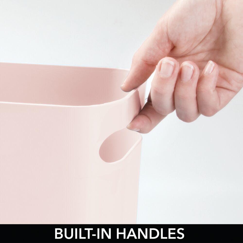 Small Plastic Slim Trash Can Garbage Bin, 12