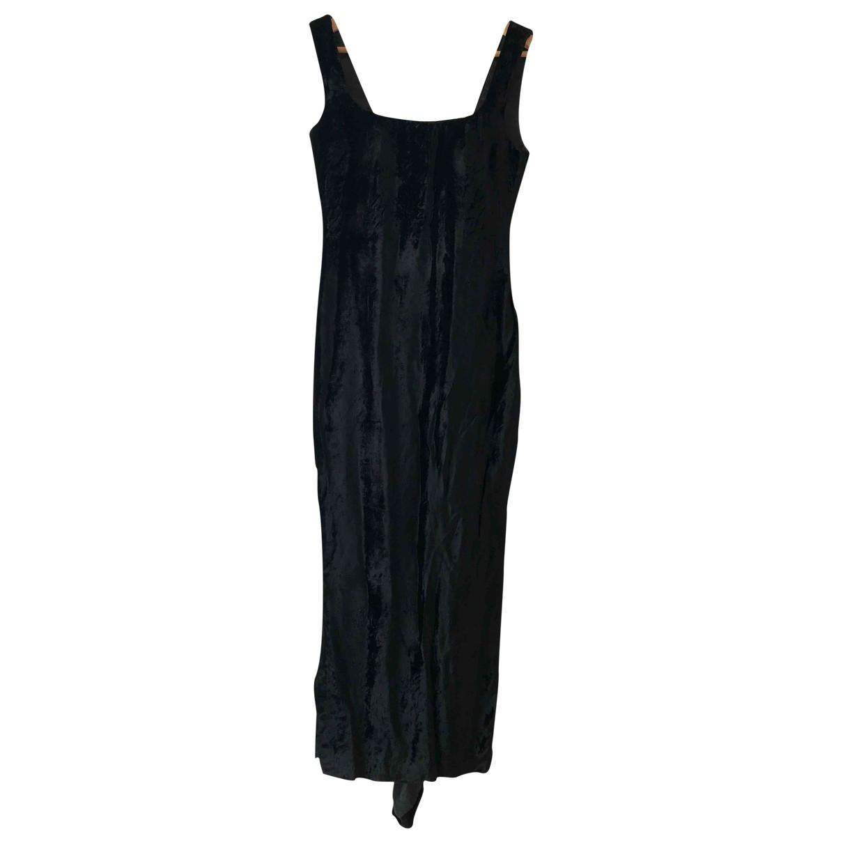 Maxi vestido de Terciopelo Gianni Versace