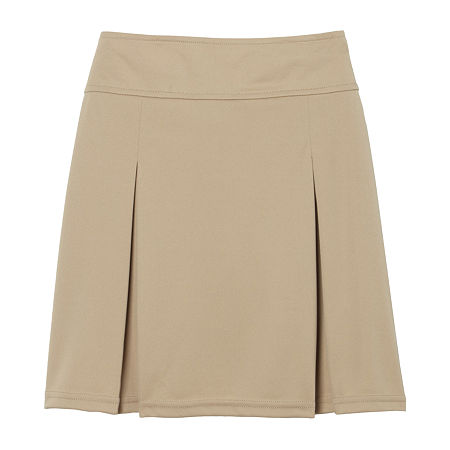 French Toast Toddler Girls Scooter Skirt, 3t , Beige