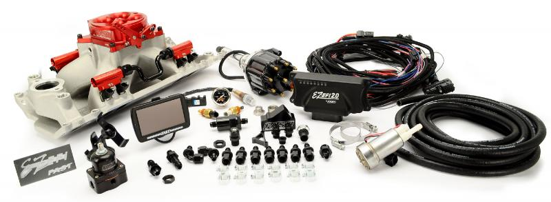 FAST EZ 2.0 BBC Multiport EFI Kit w/ Distributor and 1,000 HP In-Tank Fuel Pump Chevrolet