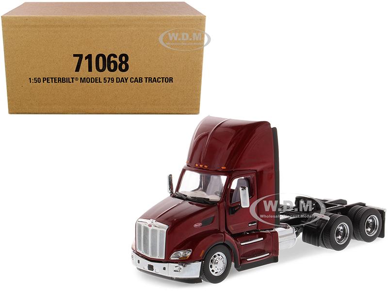 Peterbilt 579 Day Cab Truck Tractor Legendary Red