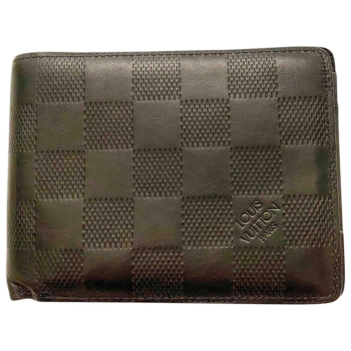 Louis Vuitton Multiple Kleinlederwaren in  Schwarz Leder