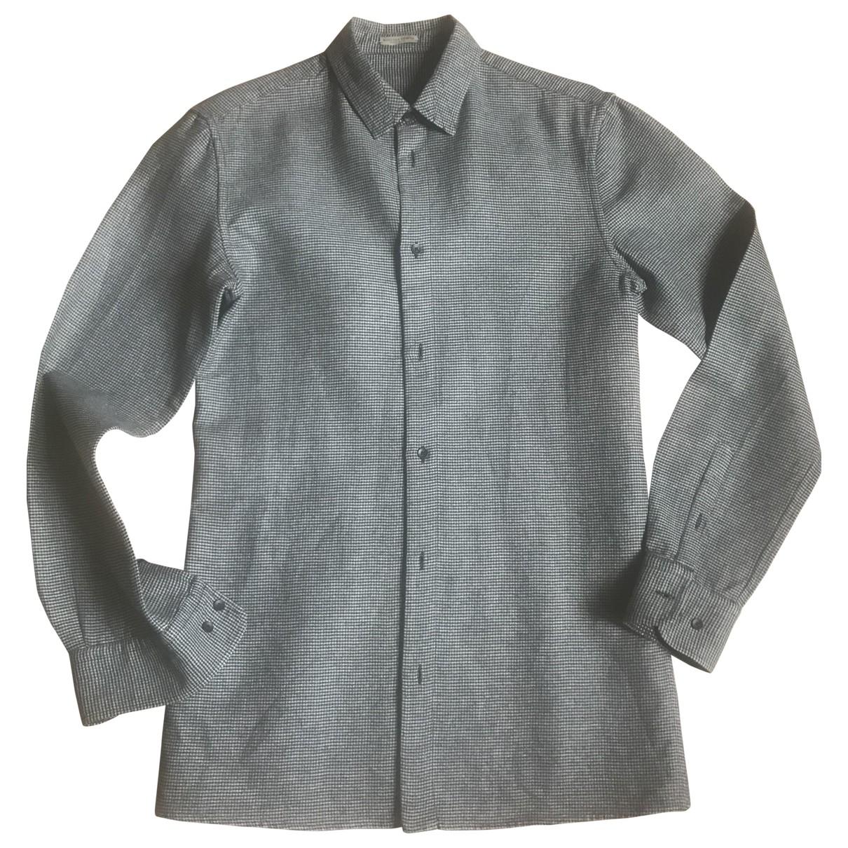 Bottega Veneta \N Hemden in  Grau Baumwolle