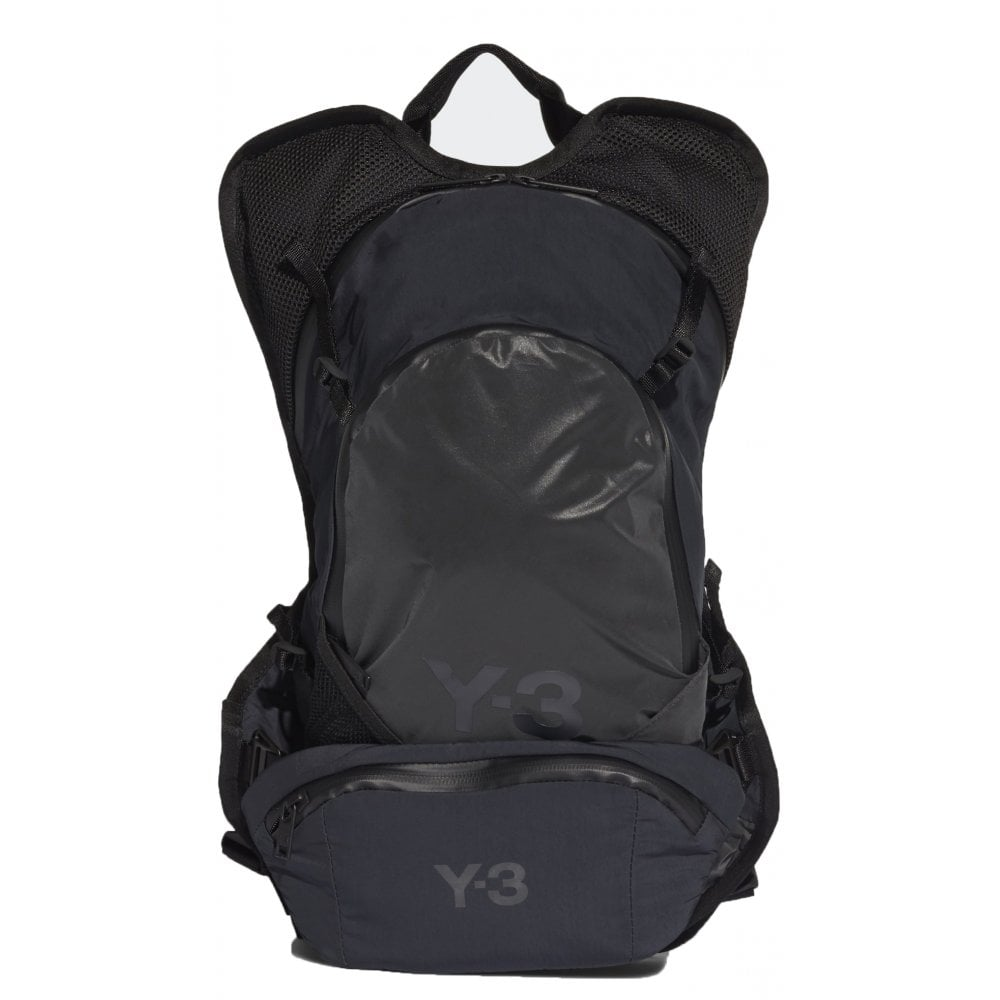 Y-3 Backpack Colour: BLACK, Size: ONE SIZE
