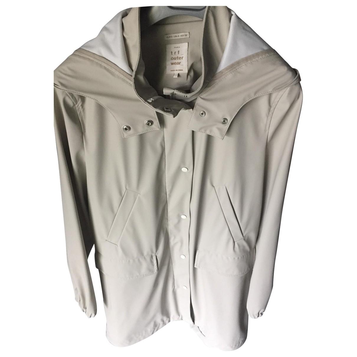 Zara \N Beige coat for Women 36 FR