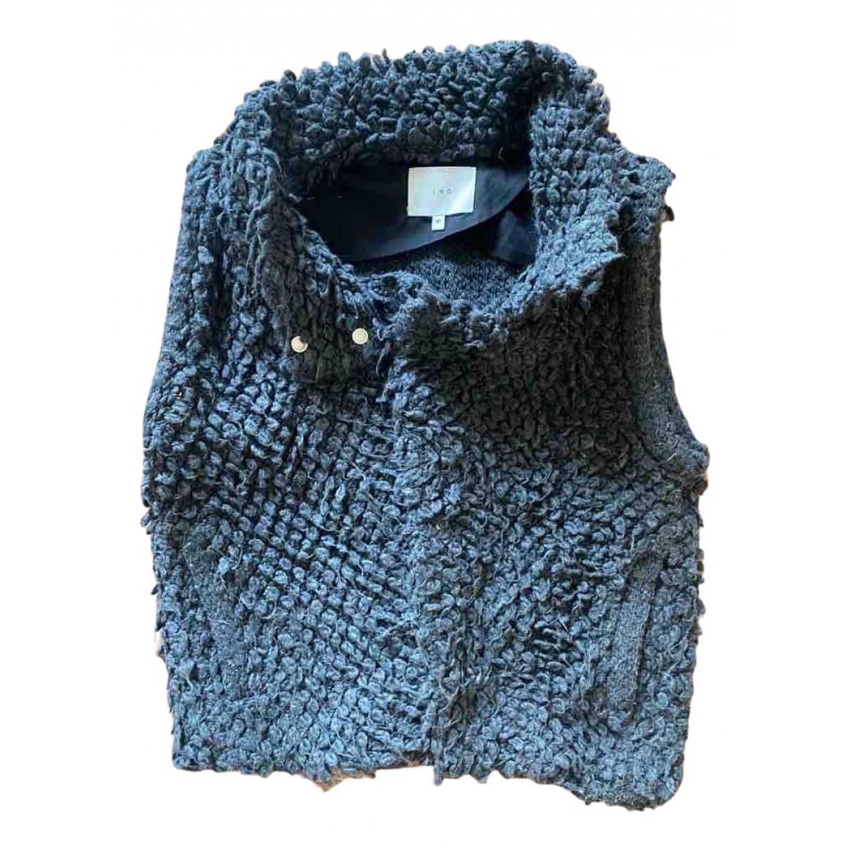 Iro - Pull Fall Winter 2019 pour femme en laine - gris