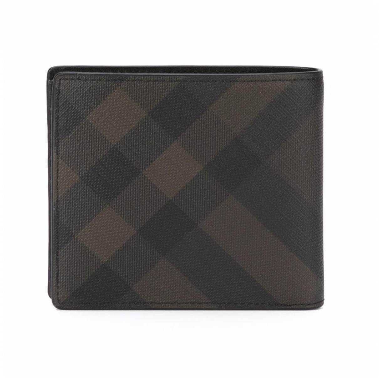 Burberry \N Brown Cloth Small bag, wallet & cases for Men \N