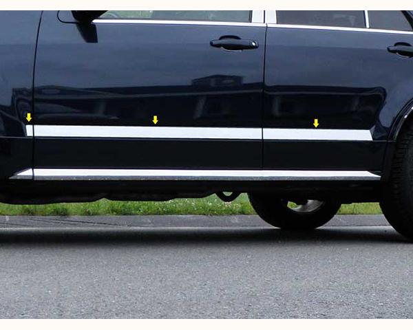 Quality Automotive Accessories 6-Piece Rocker Panel Accent Trim Kit Cadillac SRX 2009