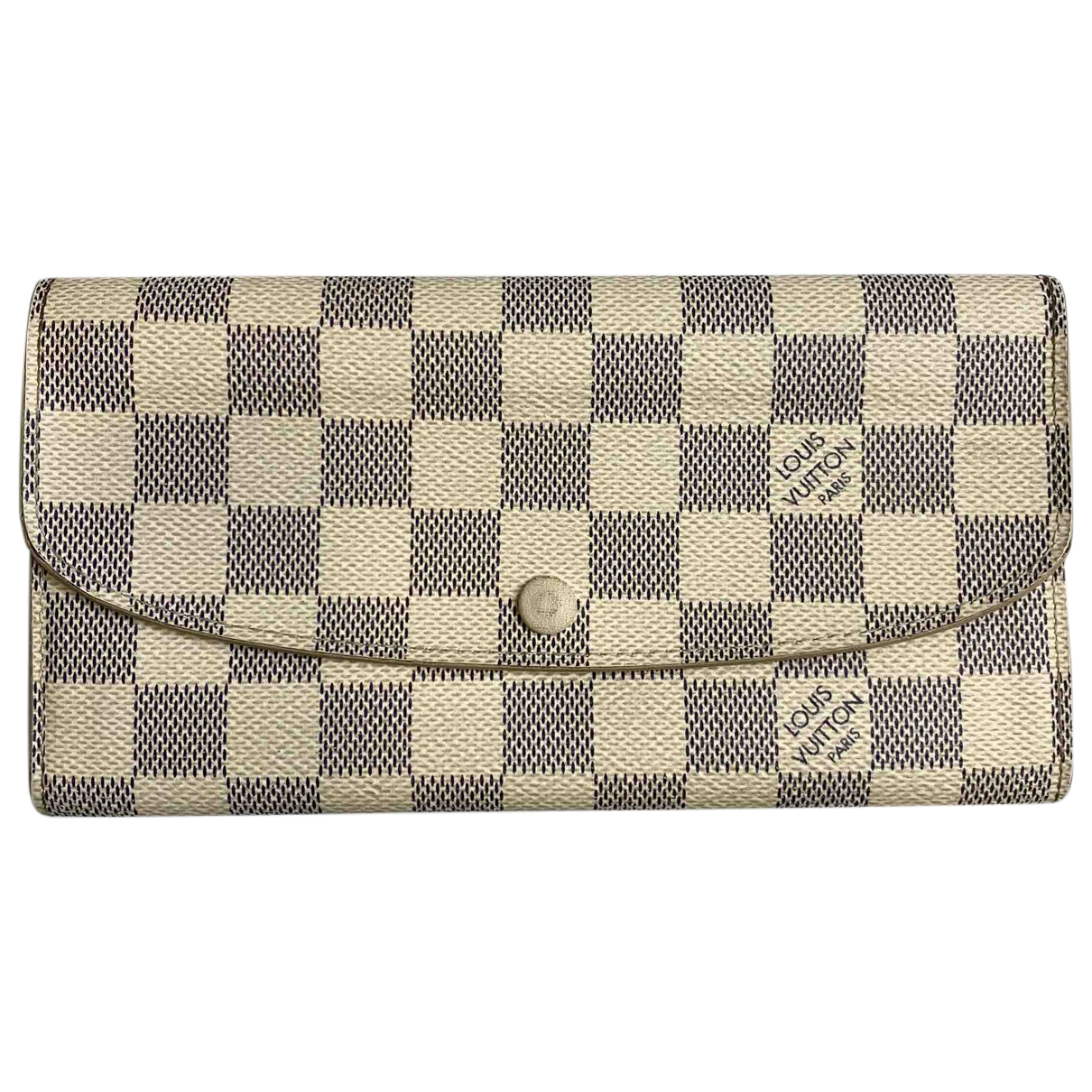 Louis Vuitton Emilie Beige Cloth wallet for Women \N