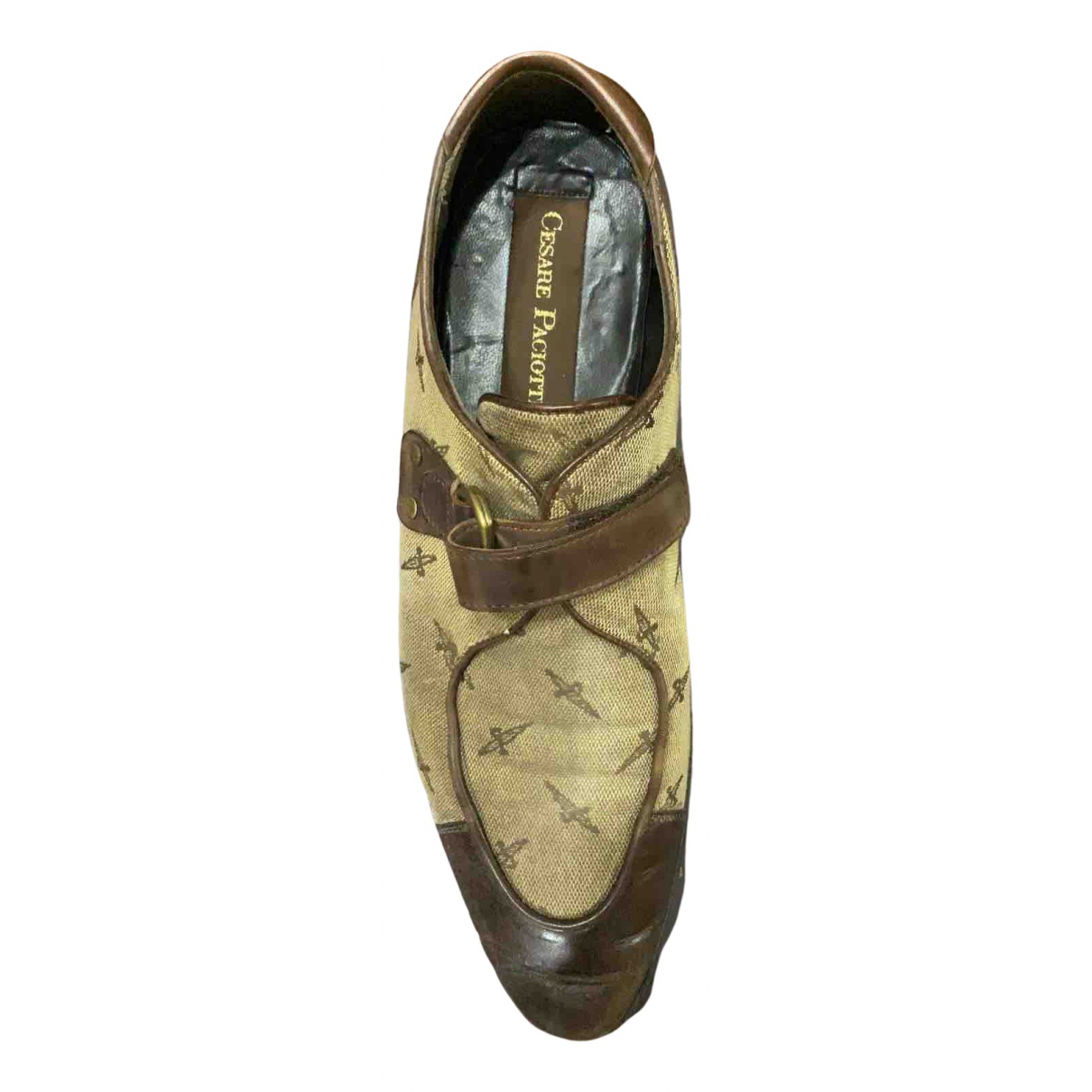 Cesare Paciotti N Brown Leather Lace ups for Men 41 IT