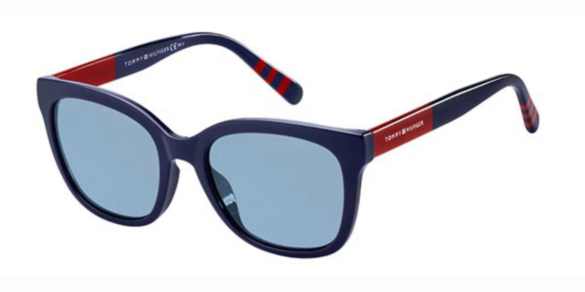 Tommy Hilfiger TH 1601/G/S PJP/KU Men's Sunglasses Blue Size 53