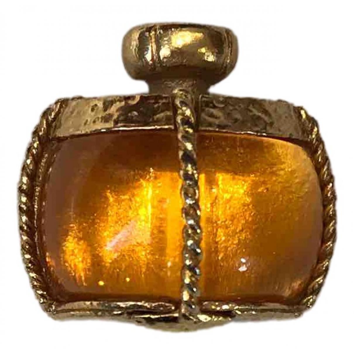 Yves Saint Laurent \N Gold Metal Pins & brooches for Women \N