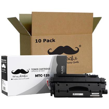 Compatible Canon 120 cartouche de toner noire- Moustache - 10/paquet