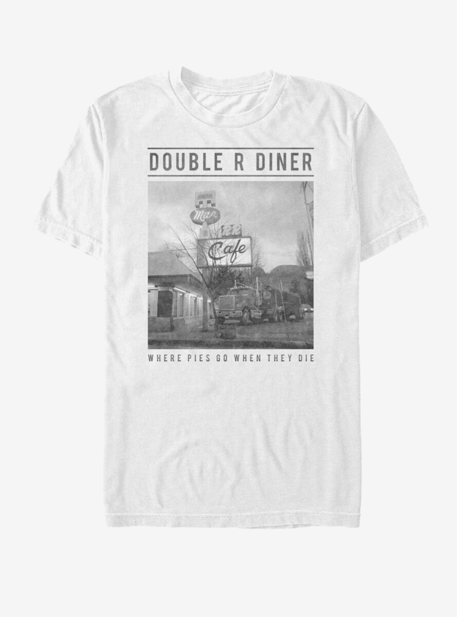 Twin Peaks Double R Diner Pie Heaven T-Shirt