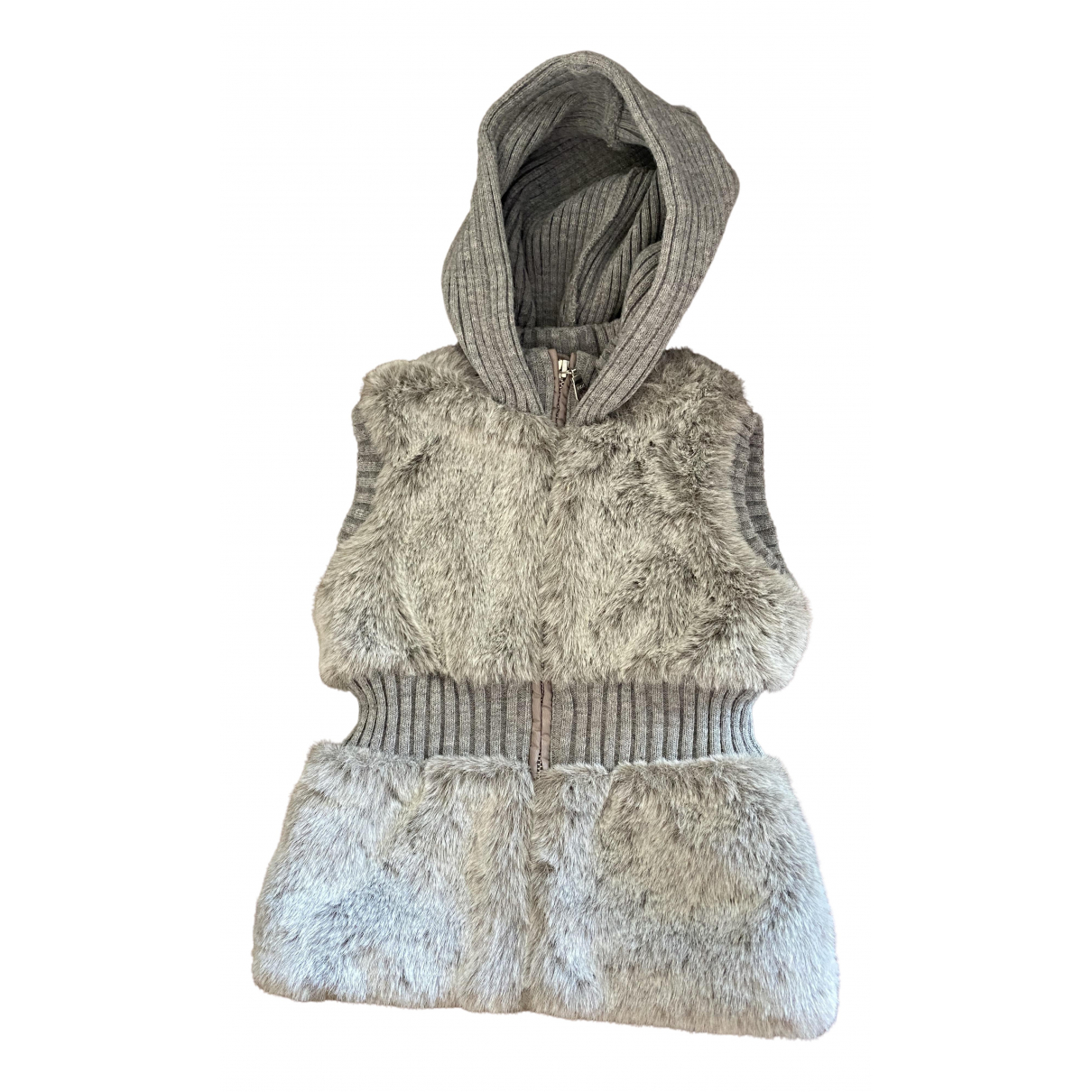 Lapin House N Grey Wool jacket & coat for Kids 4 years - until 40 inches UK