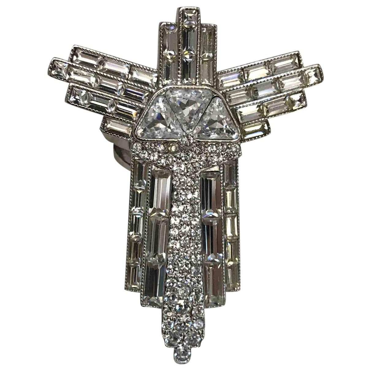 Versace \N Ring in  Silber Metall