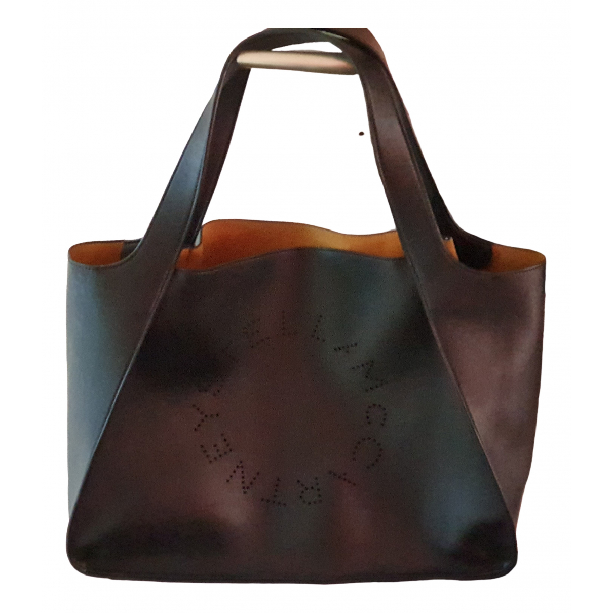 Stella Mccartney \N Black Leather handbag for Women \N