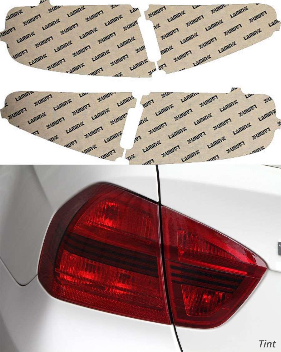 Audi A4 Sedan 13-20 Tint Tail Light Covers Lamin-X A229T