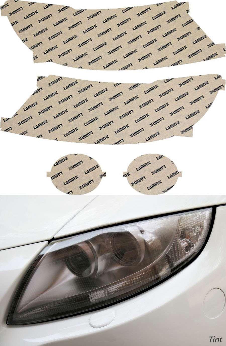 Subaru B9 Tribeca 08-14 Tint Headlight Covers Lamin-X S018T