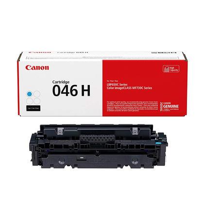 Canon 046H 1253C001 cartouche de toner originale cyan haute capacité