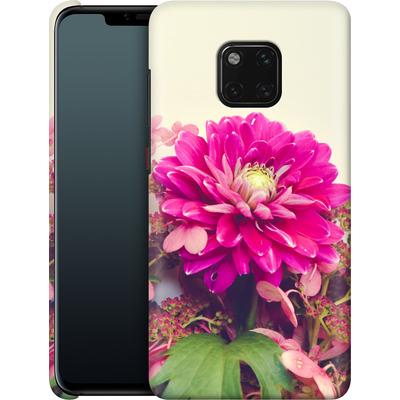 Huawei Mate 20 Pro Smartphone Huelle - Pink Dahlia 2 von Joy StClaire