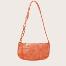 Tie Dye Baguette Bag