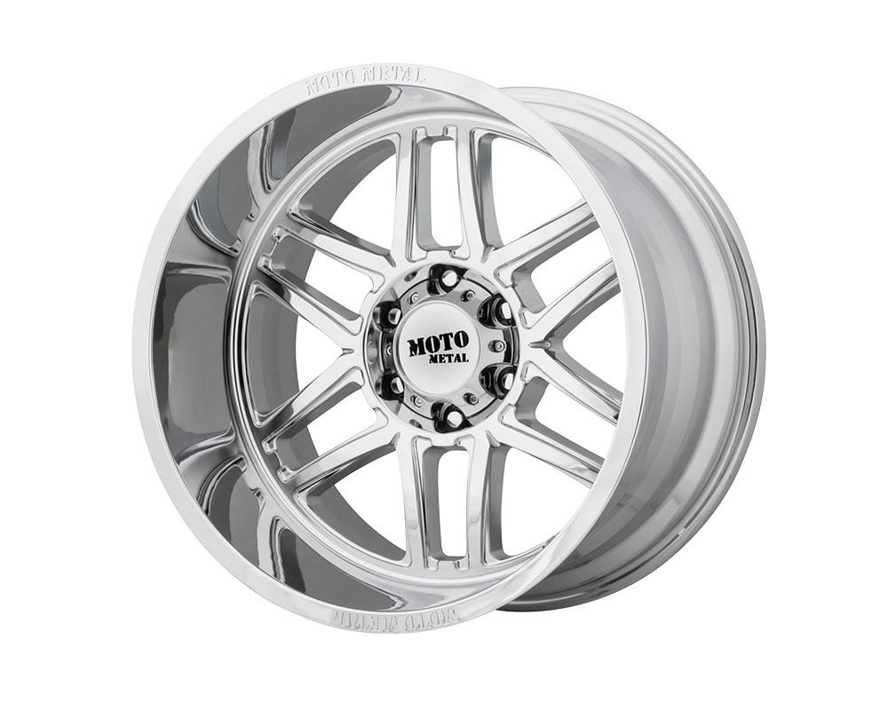 Moto Metal MO99224480276N MO992 Folsom Wheel 24x14 8x8x165.1 -76mm Chrome